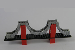 Miniture Suspension Bridge